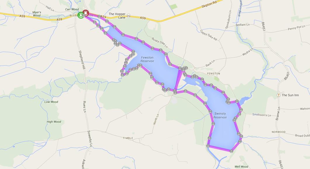Swinsty-Fewston Reservoirs